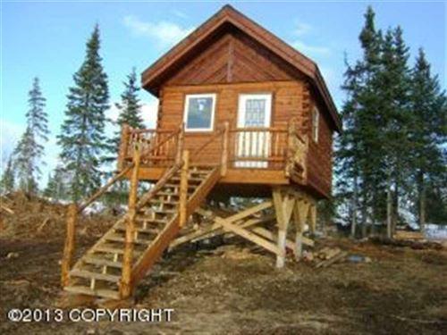 Dry 1 Room Cabin on 4.59 Acres in : Ninilchik : Kenai Peninsula Borough : Alaska