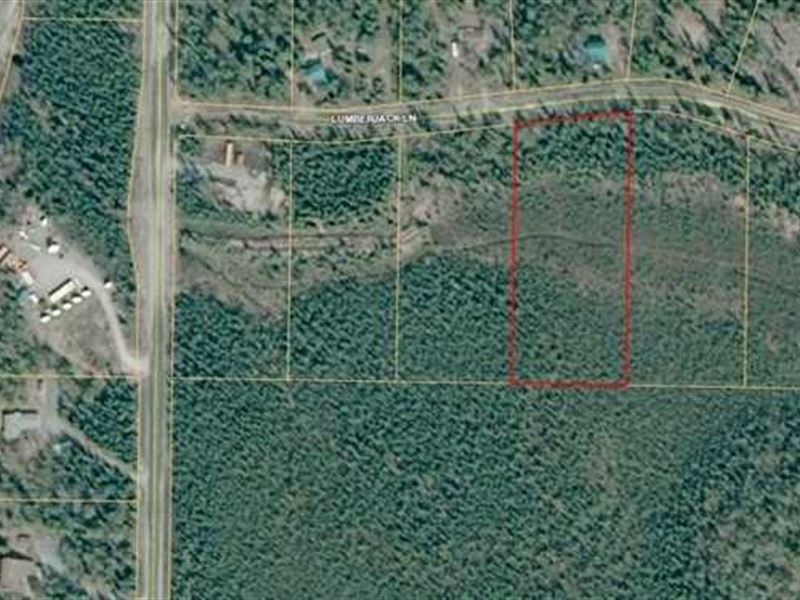 Large Parcel Near Sport Lake in So : Soldotna : Kenai Peninsula Borough : Alaska