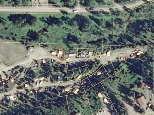 Private Spot Along a Nice Creek : Anchor Point : Kenai Peninsula Borough : Alaska