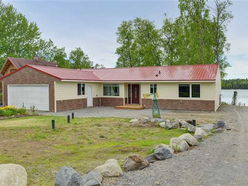 Beautiful Lake Front Property. To : Soldotna : Kenai Peninsula Borough : Alaska