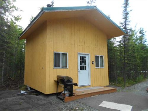 Soldotna Alaska Cabin to Move, no : Soldotna : Kenai Peninsula Borough : Alaska