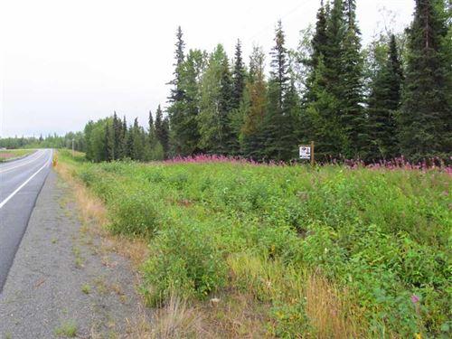 2 Acres, Sterling Hwy Frontage Lot : Kasilof : Kenai Peninsula Borough : Alaska