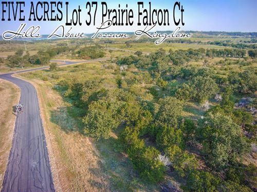 5 Acres In Palo Pinto County : Graford : Palo Pinto County : Texas