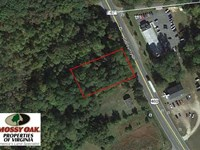 Reduced,.89 Acre Commercial Lan : Wakefield : Sussex County : Virginia