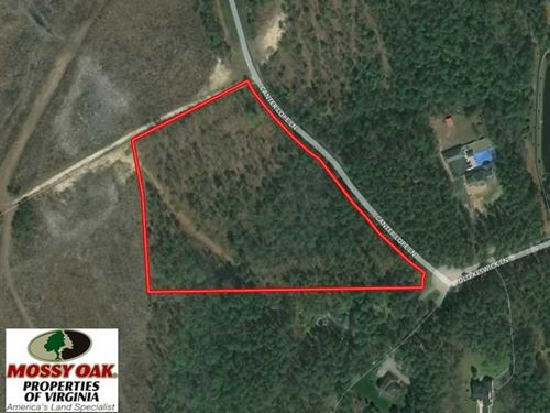 Reduced, 8.4 Acres of Residential : Carson : Dinwiddie County : Virginia