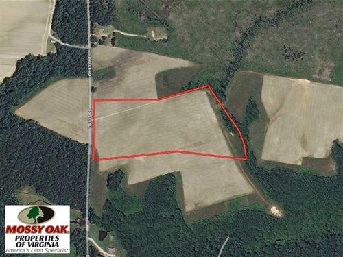 Under Contract, 17 Acres of Farm : Sedley : Southampton County : Virginia