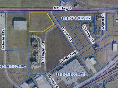 Two Acres of Prime Development Pro : Vandalia : Audrain County : Missouri