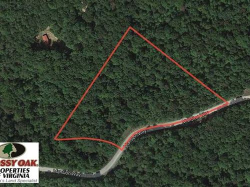 6.17 Acres of Residential Land For : Amherst : Virginia