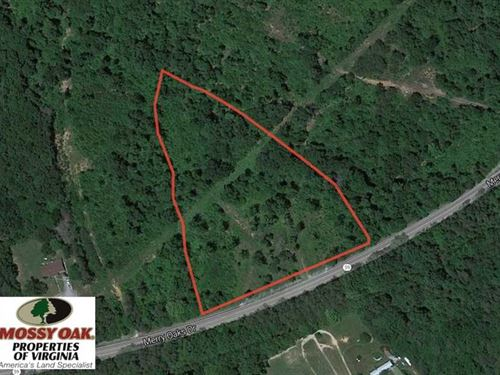 Under Contract, 4.64 Acres of Rec : Keysville : Charlotte County : Virginia