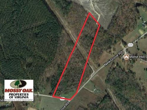 17 Acres of Hunting And Recreation : Kenbridge : Lunenburg County : Virginia