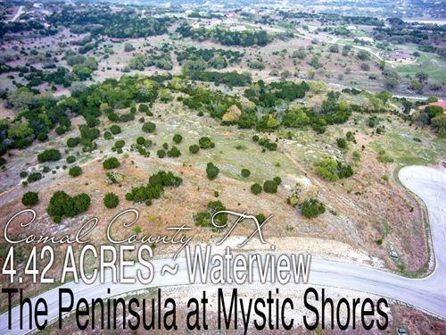 4.42 Acres In Comal County : Spring Branch : Comal County : Texas