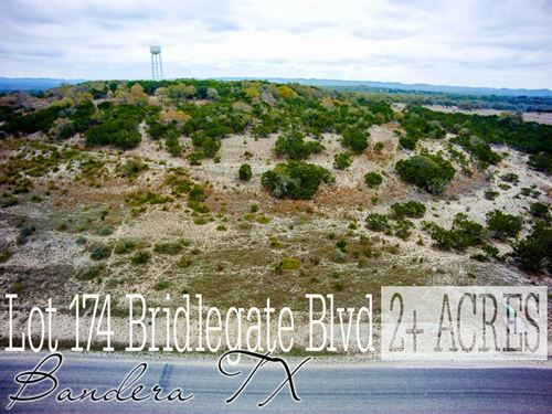2.09 Acres In Bandera Couonty : Bandera : Texas
