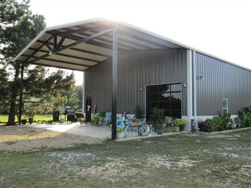 Land With Home : Powderly : Lamar County : Texas