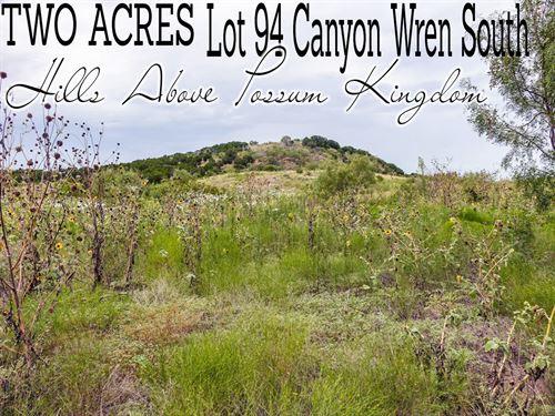 2.02 Acres In Palo Pinto County : Graford : Palo Pinto County : Texas