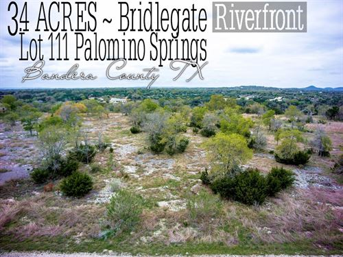3.40 Acres In Bandera County : Bandera : Texas