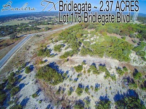 2.37 Acres In Bandera County : Bandera : Texas