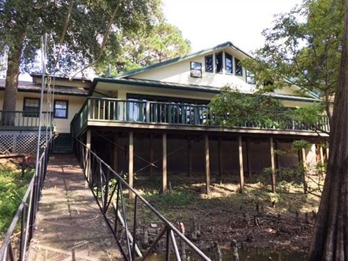 Home/Cabin For Sale With Boat Dock : Holly Grove : Monroe County : Arkansas