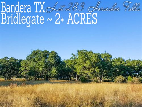 2.07 Acres In Bandera County : Bandera : Texas