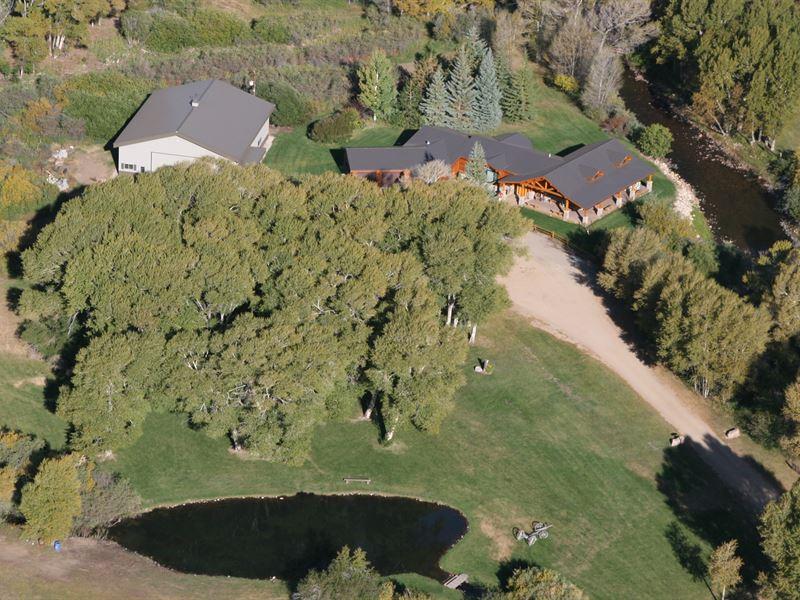 18 Vee Bar Ranch Rd : Centennial : Albany County : Wyoming