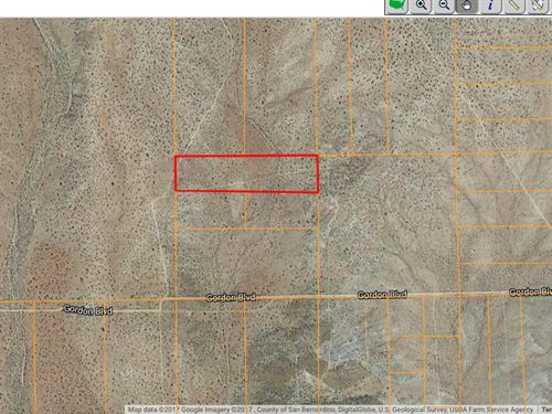10 Acres In Edwards, CA : Edwards : Kern County : California