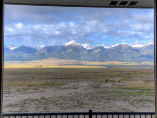 Mountain View Ranchette : Westcliffe : Custer County : Colorado