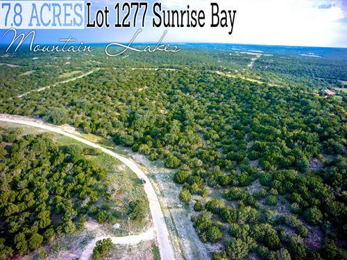 7.8 Acres In Erath County : Bluff Dale : Erath County : Texas