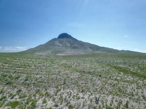 Remote Surveyed 20 Acre Hunting Pro : Terlingua : Brewster County : Texas