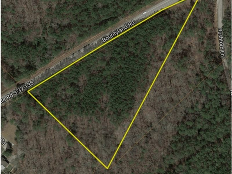 6 Beautiful Wooded Acres Near Clems : Seneca : Oconee County : South Carolina