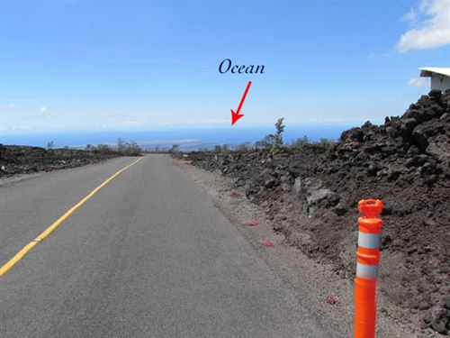 1 Acre, With Ocean View, Financing : Ocean View : Hawaii County : Hawaii