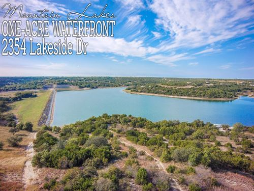 1.02 Acres In Erath County : Bluff Dale : Erath County : Texas