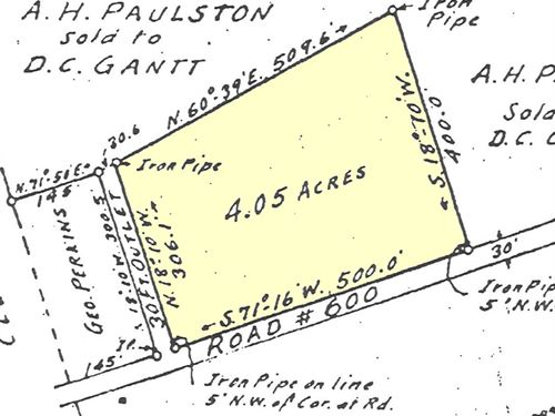 Home Site For Sale : Farmville : Cumberland County : Virginia