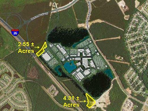 2 Development Sites In Nexton : Summerville : Berkeley County : South Carolina