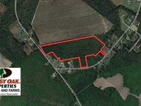 19.26 Acres of Residential Hunting : Lumberton : Robeson County : North Carolina