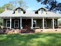 Farm House On 10+/- Acres : Tylertown : Walthall County : Mississippi