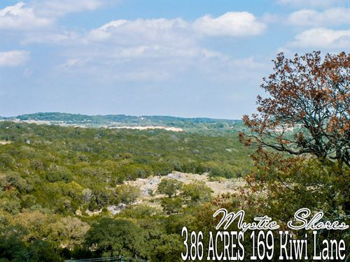 3.86 Acres In Comal County : Spring Branch : Comal County : Texas
