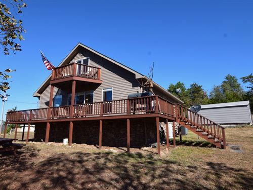 Furnished Cabin Near White River : Mountain View : Izard County : Arkansas