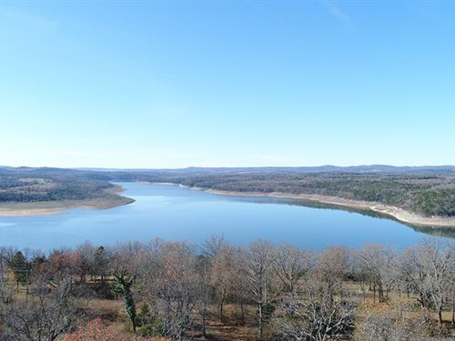 3 Acres On Bull Shoals : Branson : Taney County : Missouri