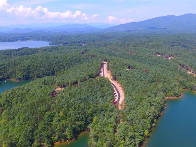 Lake James Lake Lot : Marion : McDowell County : North Carolina