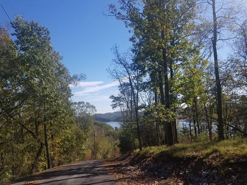 Cherokee Lake View Building Lot : Mooresburg : Hawkins County : Tennessee
