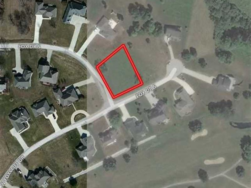Foxcliff estates building site lot for sale for Build on your lot indiana