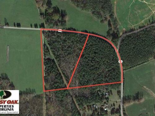 Under Contract, 20 Acres of Timbe : South Hill : Lunenburg County : Virginia