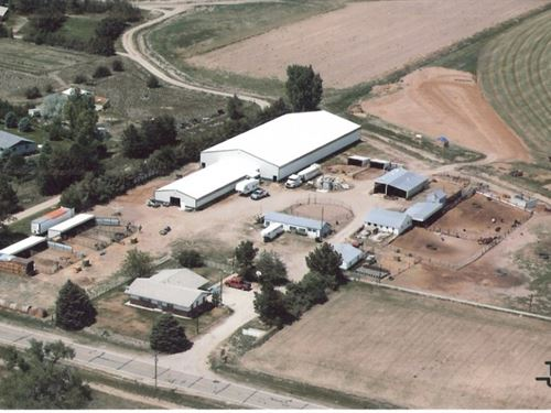 Mitchell Indoor Arena : Mitchell : Scotts Bluff County : Nebraska