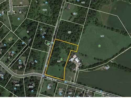 6.36 Acre Lot In Washington Twp : Washington : Warren County : New Jersey