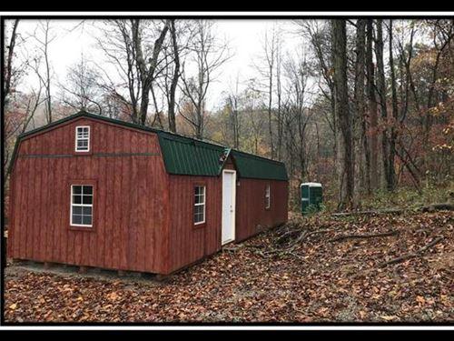 Hidden Off Grid Cabin On The Hill : Jackson : Ohio