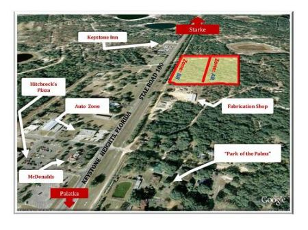 10 Ac Commercial/Residental A161 : Keystone Heights : Clay County : Florida