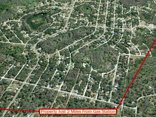 Residential Lot Off Poplar Street : New Port Richey : Pasco County : Florida