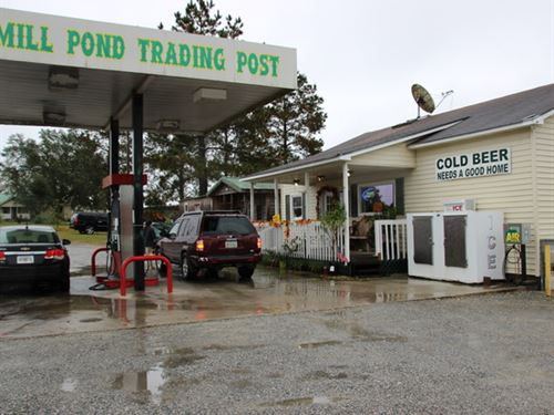Mill Pond Trading Post : Twin City : Emanuel County : Georgia