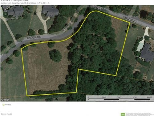 Residential Lot 3.18 Acres Ho : Belton : Anderson County : South Carolina
