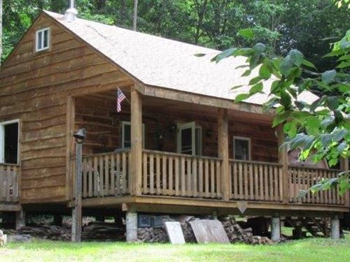 Cabin At Fawn Meadow, Adjoins State : Florence : Oneida County : New York