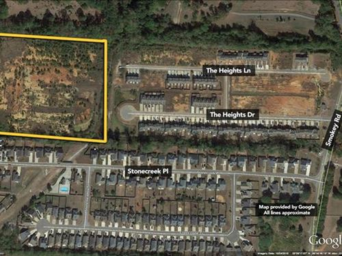 11 Acres of Vacant Land at th : Calera : Shelby County : Alabama